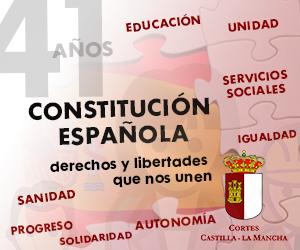 Día de la Constitución. Castilla la Macha