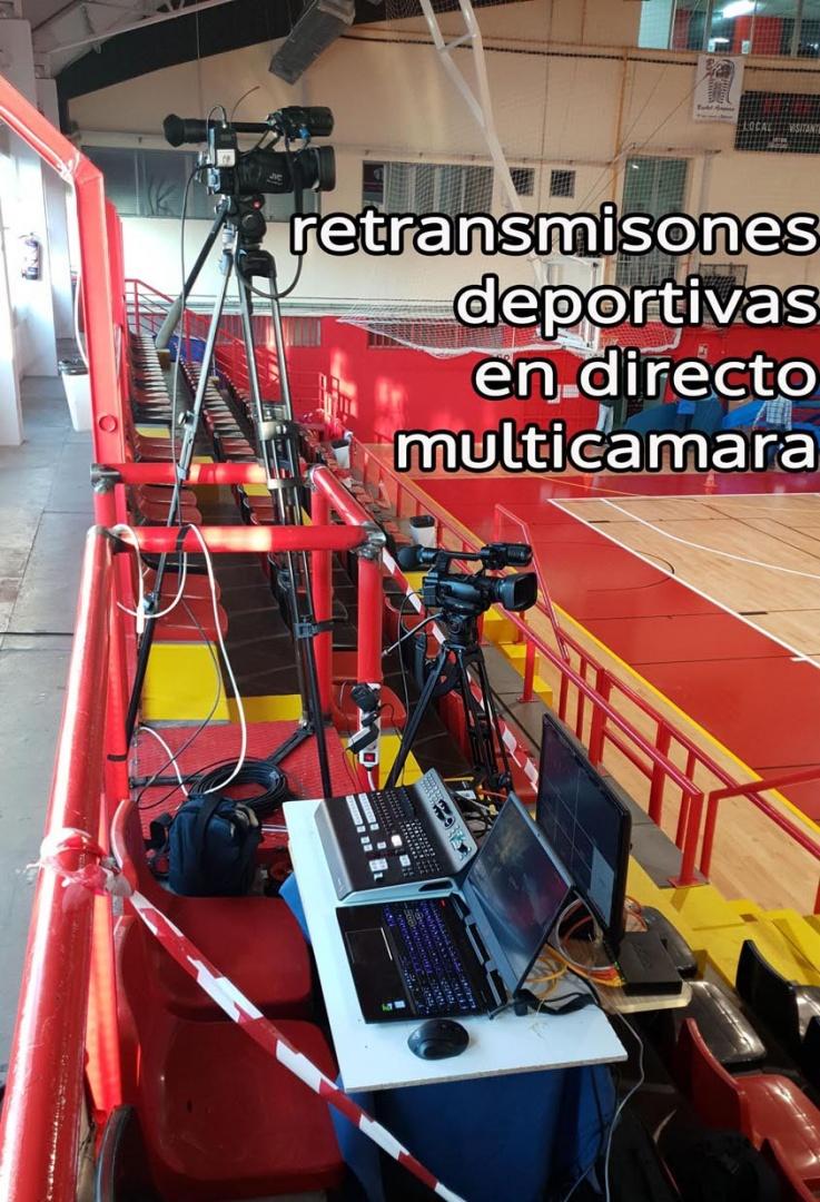 Grabaciones profesionales. emisiones en directo.