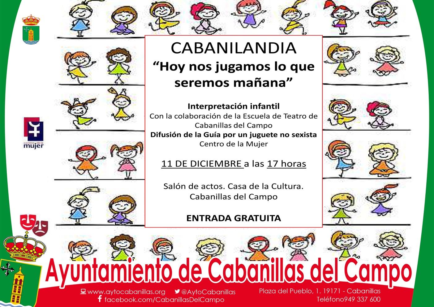 ctava edición de Cabanilandia en Cabanillas, por la convivencia y promoviendo el juguete no sexista
